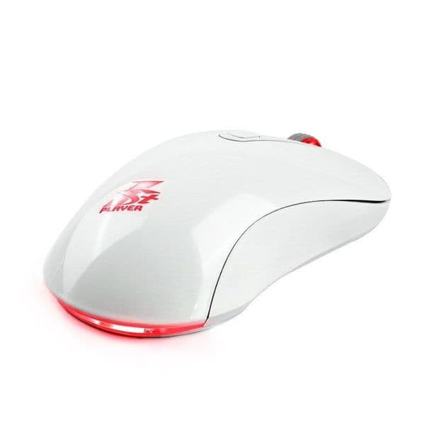 1stPlayer Fire Dancing White GM3 Mouse